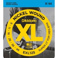 CORDES D'ADDARIO EXL125