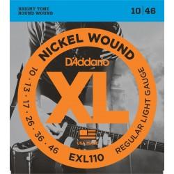 CORDES D'ADDARIO EXL110