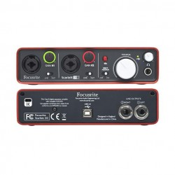 Interface Focusrite...