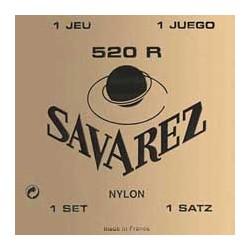 JEU DE CORDES CLASSIQUES SAVAREZ 520R