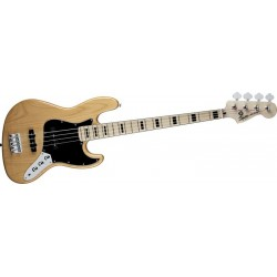 squier vintage modified jazz bass 70\'s natural